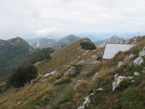 Cresta sommitale del Pizzoccolo