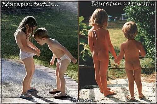educazione nudista