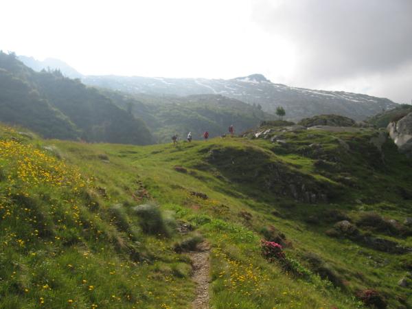 A monte del rifugio (Foto Emanuele Cinelli)