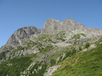 Cornone di Blumone - Versante nord (Foto Emanuele Cinelli)
