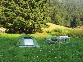 Campo in Valle Dorizzo (Foto Emanuele Cinelli)