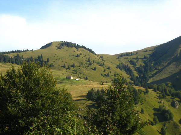 Dosso e Passo Falcone (Foto Emanuele Cinelli)