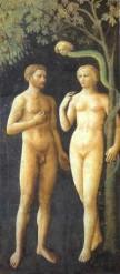 Masolino, La tentazione Da: http://www.galleriaroma.it