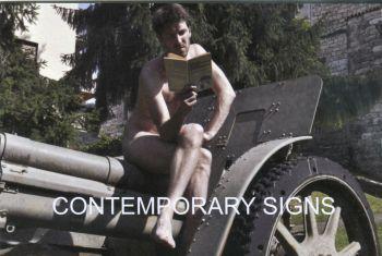 Cartolina per la mostra Contemporary Signs