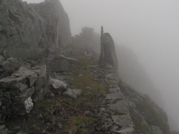In vetta al Monte Listino