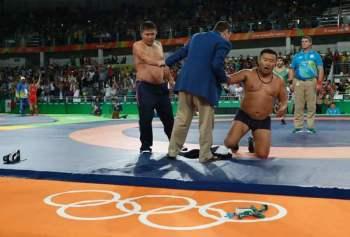 La protesta degli allenatori mongoli