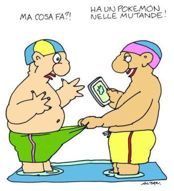 Vignetta di Altan. Da l'«Espresso», agosto 2016