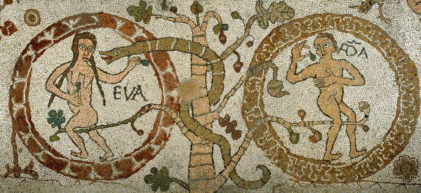 Otranto, Cattedrale di Santa Maria Annunziata, mosaico del pavimento, particolare