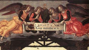 Il Ghirlandaio, Adorazione dei Magi, 1488 (Firenze, Galleria degli Uffizi)