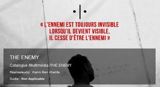 «Il nemico è sempre invisibile, quando diviene visibile, smette di essere il nemico»