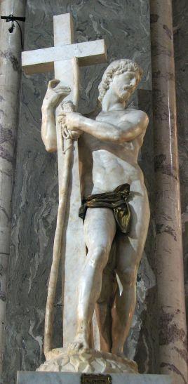 Michelangelo - Il Cristo della Minerva - con cencio