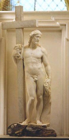 Michelangelo - Il cristo della Minerva, prima versione